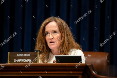 Stock Photo of United States Representative Kathleen Rice (Democrat of New York) delivers opening statements