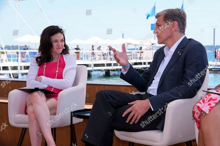 Today at Cannes Lions, Marc Pritchard, P&G's Chief Brand Officer, discusses the gender dynamic and equality in advertising with Sheryl Sandberg at the Facebook beach on