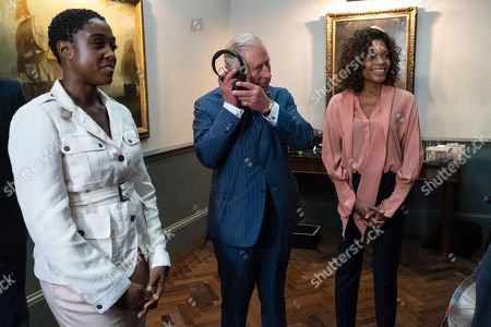 Lashana Lynch, Prince Charles, Naomie Harris