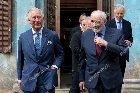 Editorial picture of Prince of Wales tours set of James Bond film, Pinewood Studios, London, UK - 20 Jun 2019