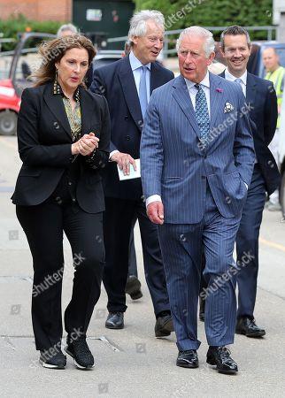 Editorial image of Prince of Wales tours set of James Bond film, Pinewood Studios, London, UK - 20 Jun 2019