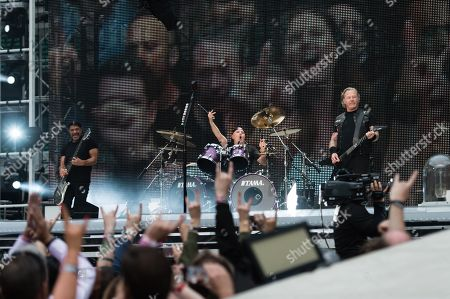 Metallica - Robert Trujillo, James Hetfield, Lars Ulrich