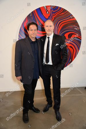 Editorial picture of Andy Moses exhibition preview, first year anniversary of JD Malat Gallery, London - 20 Jun 2019