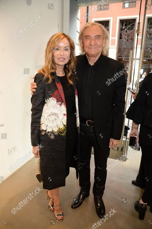 Marjorie Bach and Joe Walsh
