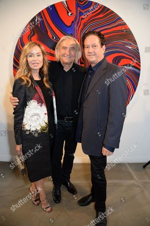 Editorial photo of Andy Moses exhibition preview, first year anniversary of JD Malat Gallery, London - 20 Jun 2019