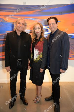 Joe Walsh, Marjorie Bach and Andy Moses