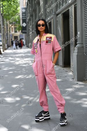 Stock Photo of Kristen Noel Crawley Street Style