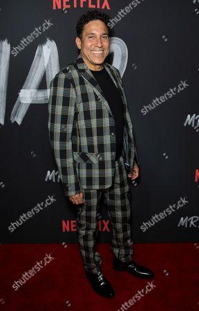 "Stock Photo of Oscar Nunez attends the LA Premiere of ""Mr. Iglesias"" at the Regal LA Live, in Los Angeles"