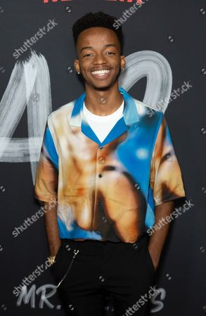 "Stock Photo of Coy Stewart attends the LA Premiere of ""Mr. Iglesias"" at the Regal LA Live, in Los Angeles"