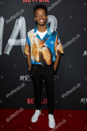 "Coy Stewart attends the LA Premiere of ""Mr. Iglesias"" at the Regal LA Live, in Los Angeles"