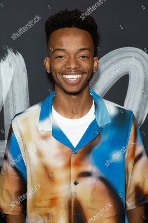 "Stock Picture of Coy Stewart attends the LA Premiere of ""Mr. Iglesias"" at the Regal LA Live, in Los Angeles"