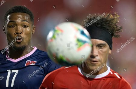 Editorial picture of Gold Cup Bermuda Costa Rica Soccer, Frisco, USA - 20 Jun 2019