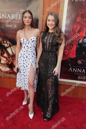Editorial image of Warner Bros. Pictures and New Line Cinema 'Annabelle Comes Home' world film premiere, Los Angeles, USA - 20 Jun 2019