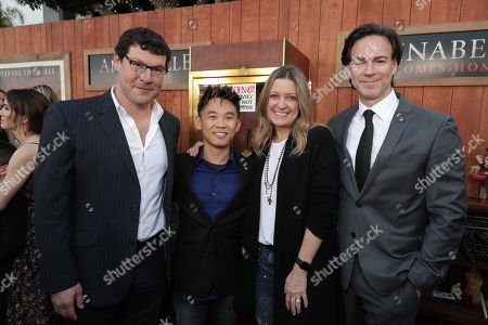Richard Brener, President & Chief Creative Officer of New Line Cinema, James Wan, Writer/Producer, Carolyn Blackwood, President and Chief Content Officer of New Line Cinema, Peter Safran, Producer,