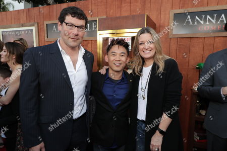 Richard Brener, President & Chief Creative Officer of New Line Cinema, James Wan, Writer/Producer, Carolyn Blackwood, President and Chief Content Officer of New Line Cinema,