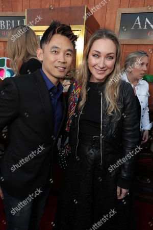James Wan, Writer/Producer, Blair Rich, President, Worldwide Marketing, Warner Bros. Pictures Group and Warner Bros. Home Entertainment,