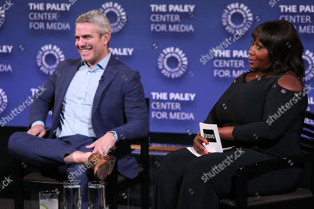 Andy Cohen and Bevy Smith