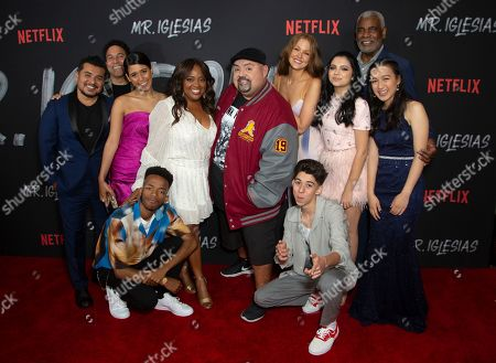 "Jacob Vargas, Oscar Nunez, Maria Quezada, Coy Stewart, Sherri Shepherd, Gabriel Iglesias, Maggie Geha, Fabrizio Zacharee Guido, Cree Cicchino, Richard Gant, Gloria Aung. Jacob Vargas, from left, Oscar Nunez, Maria Quezada, Coy Stewart, Sherri Shepherd, Gabriel Iglesias, Maggie Geha, Fabrizio Zacharee Guido, Cree Cicchino, Richard Gant and Gloria Aung attend the LA Premiere of ""Mr. Iglesias,"" at the Regal LA Live, in Los Angeles"