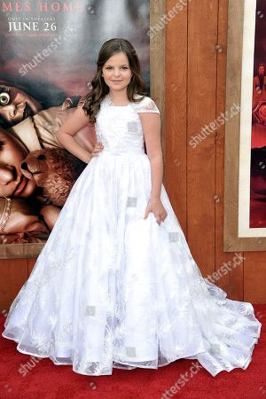"""Samara Lee attends the LA premiere of """"Annabelle Comes Home,"""" at the Regency Village Theatre, in Los Angeles"""