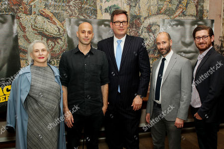 Peggy Drexler Producer), Avi Belkin (Director), Charlie Pavlounis (EVP, CFO CBS), Rafael Marmor (Producer), Christopher Leggett (Producer)