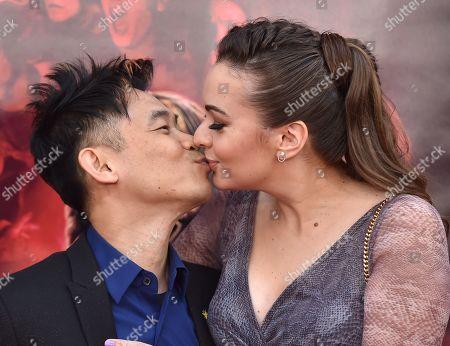 James Wan and Ingrid Bisu