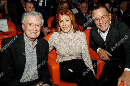 Regis and Joy Philbin, Tony Danza