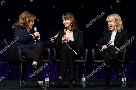 Stock Photo of Dawn Wells, Barbara Feldon and Barbara Eden at Supanova Comic Con and Gaming exhibition at Sydney Showground.