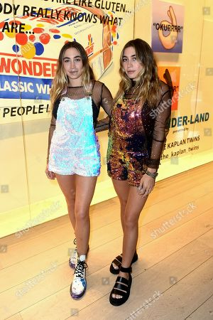 Editorial image of 'Wonder-land' exhibition launch, Los Angeles, USA - 20 Jun 2019