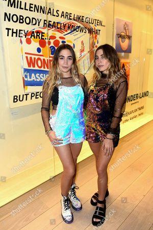 Stock Picture of Allie Kaplan and Lexi Kaplan