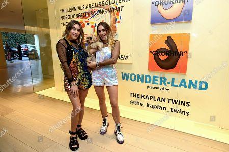 Stock Photo of Lexi Kaplan and Allie Kaplan