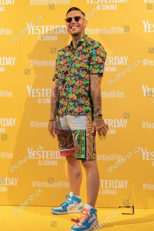 Editorial image of 'Yesterday' film premiere, Milan, Italy - 20 Jun 2019