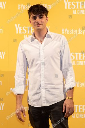 Editorial picture of 'Yesterday' film premiere, Milan, Italy - 20 Jun 2019