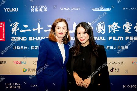 Editorial image of BAFTA Breakthrough China press conference, in partnership with Yu Holdings, The Peninsula, Shanghai, China - 21 Jun 2019