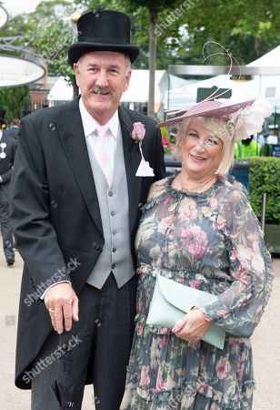 Russ Abbot and wife Tricia