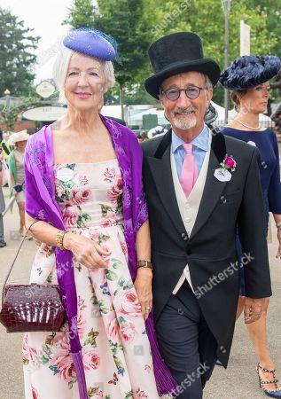 Marie Jordan and Eddie Jordan