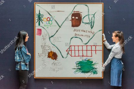 Jean-Michel Basquiat, Big Snow, 1984, Estimate: £3,500,000-4,500,000