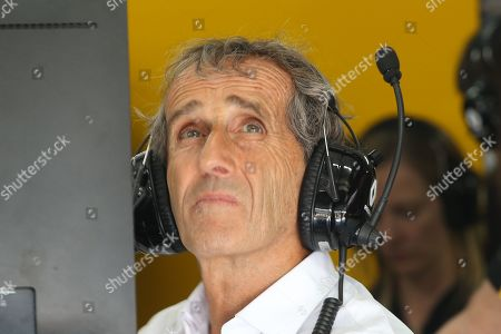 Alain Prost RENAULT F1 team during the Formula1 Pirelli Grand Prix of France 2019 at Circuit Paul Ricard, Le Castellet