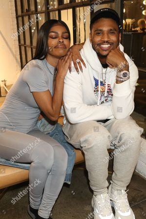 Teyana Taylor and Trey Songz