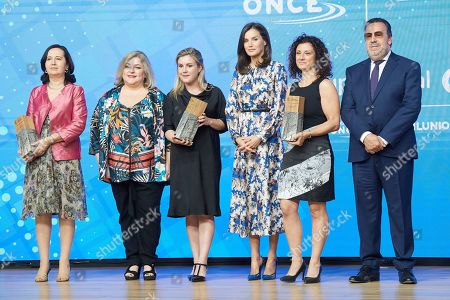 Delivery of the 5th edition of the Discapnet Awards, Madrid