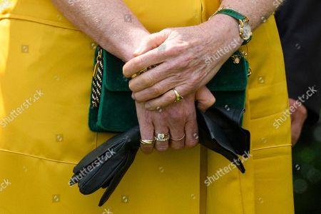Sarah Ferguson Duchess of York, ring detail