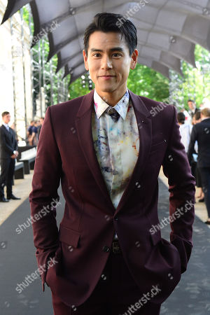 Canadian Taiwanese actor Eddie Peng arrives for the show of Berluti during the Paris Fashion Week, in Paris, France, 21 June 2019. The presentation of the Spring/Summer 2020 menswear collections runs from 18 to 23 June.