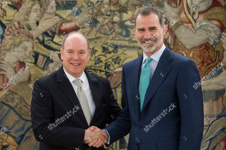 Prince Albert II of Monaco visits Madrid