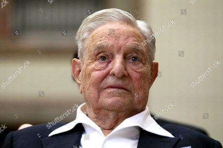 Editorial picture of Soros, Vienna, Austria - 21 Jun 2019