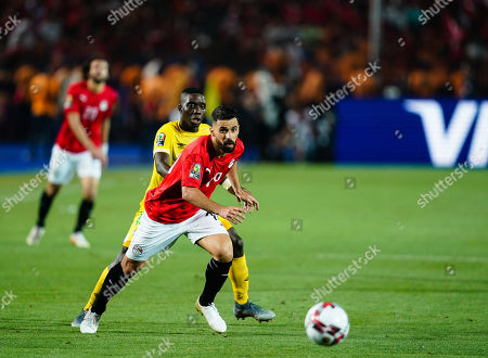 Mahmoud Hamdy Mohamed Attia of Egypt G0 during the African Cup of Nations match between Egypt and Zimbabwe at the Cairo International Stadium in Cairo, Egypt