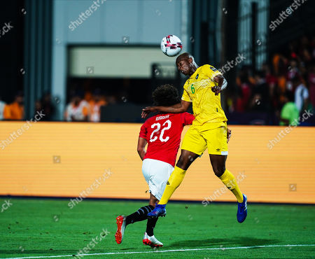 Editorial picture of Egypt v Zimbabwe - African Cup of Nations, Cairo, Egypt - 21 Jun 2019