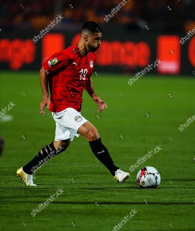Abdallah Mahmoud Said Mohamed Bekhit of Egypt G0 during the African Cup of Nations match between Egypt and Zimbabwe at the Cairo International Stadium in Cairo, Egypt