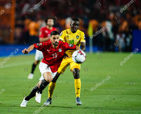 Editorial photo of Egypt v Zimbabwe - African Cup of Nations, Cairo, Egypt - 21 Jun 2019