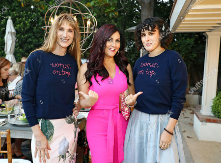 Kelly Lynch, Cindy Eckert and Rumer Willis