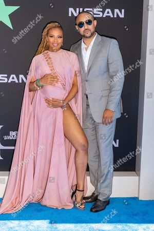 Eva Marcille and Michael Sterling