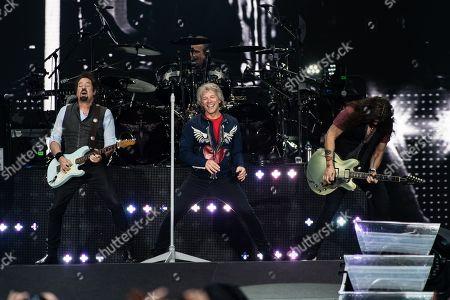 Editorial photo of Bon Jovi in concert at Wembley Stadium in London, UK - 21 Jun 2019